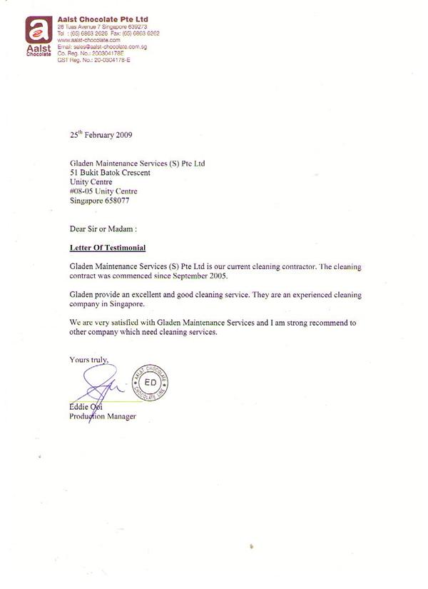 Gladen Maintenance Services S Pte Ltd